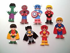 3D- U Pick - SH1 Superhero Child Bear Scrapbook Card Embellishment