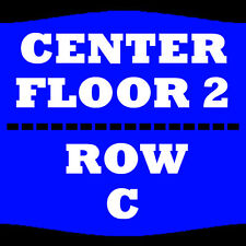 2 TIX TRANS-SIBERIAN ORCHESTRA 11/19 FLOOR 2 ROW C DCU CENTER WORCESTER