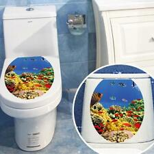 New Removable Toilet Seat Wall Sticker Vinyl Decal Wallpaper Bathroom DIY Decor