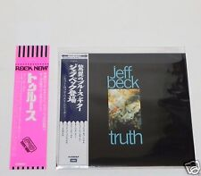 2005 JEFF BECK / Truth JAPAN Mini LP CD + PROMO OBI  TOCP-67688