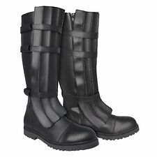 Star Wars Jedi Boots Black for your Sith Anakin Skywalker Costume - from UK