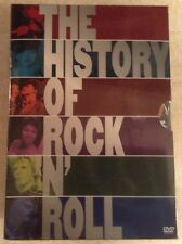 THE History of Rock 'N' Roll, Boxed Set (DVD, 2004, 5-Disc Set) NEW AND SEALED!!