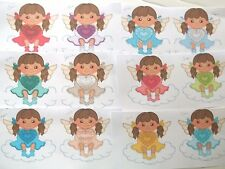 3D - U Pick - AF7  Birthstone Angels Girls Scrapbook Card Embellishment