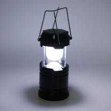 LED Rechargeable Lantern Folding Lamp Light Portable Hand Solar Camping Outdoor