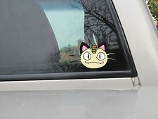 Meowth Sticker - Pokemon Sticker - Vinyl Decal - Var. Sizes and Colors - Style 2