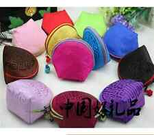 Wholesale Chinese Handmade Classic mini Real Silk Zero Wallet Coin Purse bags