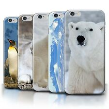 STUFF4 Back Case/Cover/Skin for Apple iPhone 6S+/Plus/Arctic Animals