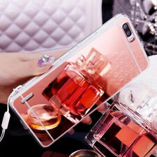 Ultra-thin Soft Silicone TPU Mirror Case Cover Skin for Huawei P8 P9 LITE Phones