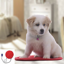 Dog Cat Pet Bunny Electric Heated Heat Heating Heater Pad Mat Blanket Warm Bed