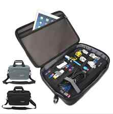 "BUBM EVA Hard Case 13"" Pro Laptop Handbag Air 11/12/13"" Laptop USB HDD Cable Bag"