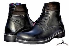 Men Warm Snow Calf Leather Ankle Winter Lace Up Boots Shoes Fashion Mens Chukka