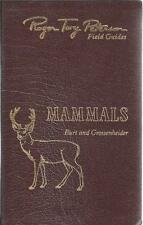 Mammals (Roger Tory Peterson Field Guides, 50th Anniversary Edition)
