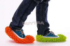 Dust Floor Cleaning Slippers Shoes Mop House Clean Shoe Cover Multifunction lia