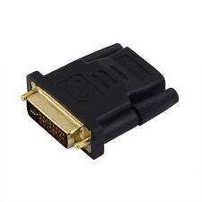 HOTDVI Male to HDMI Female Adapter Gold-Plated M/F Converter HDTV LCD Lot