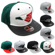 Mexican Hecho En Mexico Eagle Aguila Embroidered Snapback Hat Baseball Cap New