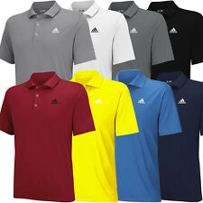 2015 Adidas Puremotion Solid Jersey Mens Performance Golf Polo Shirt