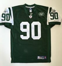 Vintage Authentic Dennis Byrd New York Jets Reebok NFL Equipment Jersey Green