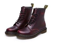 New men's biker combat desert leather work lace up ankle boots Motorcycle shoes