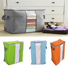 Bamboo Charcoal Folding Packing Storage Bag For Household Clothes Coats Sweater