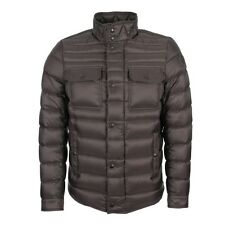 New Autumn/Winter 2016 Moncler Forbin Quilted Down Jacket - Steel Grey