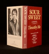 1982 Timothy Mo Sour Sweet Novel Dustwrapper First UK Edition