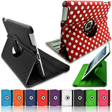 360 Rotating PU Leather Ultra Slim Smart Case Stylish Cover Stand for Apple iPad
