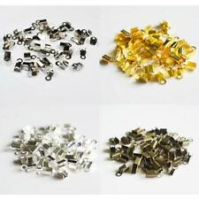 Pack of 200 DIY Chain End Caps Crimp Cord Jewelry Tools Making