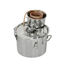 2~5 Gal Copper Water Alcohol Wine Distiller Moonshine Still Stainless Boiler New