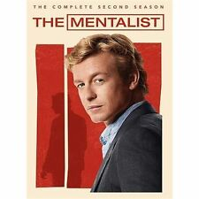 The Mentalist: The Complete Second Season (DVD, 2010, 5-Disc Set)