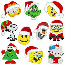 * CHRISTMAS MIXED SET1 * Machine Applique Embroidery Patterns * 10, 4 sizes