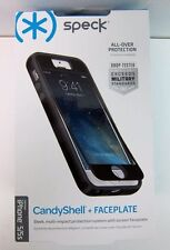 New Speck Black CandyShell + Faceplate Case for iPhone 5/5s