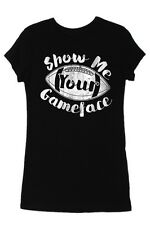 Show Me Your Gameface Football Tee