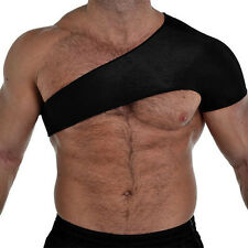 Shoulder Support Strap Wrap Belt Neoprene Dislocation Injury Arthritis Pain Band