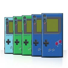 STUFF4 Back Case/Cover/Skin for Sony Xperia XZ/F8332/Video Gamer/Gameboy