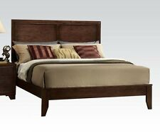 Madison Espresso Finish 1 Piece Queen Cal King Est King Size Bed Bedroom Home