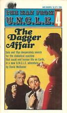 The Man From UNCLE #4 - The Dagger Affair by David McDaniel (Paperback)