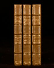 1894 3vol Lord Ormont and his Aminta Novel George Meredith Signed Binding
