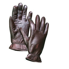 Shooting/Hunting Gloves - Leather Insulated Gloves Brown/Black w/Free Toe Pad