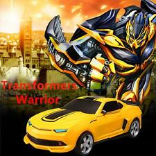 Transformers radio remote control auto-bot robot car creative cute kids toy gift