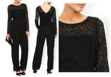 Monsoon Ambra Black Lace Beaded Eve Party Jumpsuit Sizes 8 10 12 14 16 18 £149