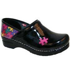 Sanita Professional Hope - Printed Patent Clog - All Colors - All Sizes