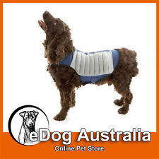 Cool K-9 Evaporative Cooling Dog Reflective Safety Vest Jacket for Warm Weather