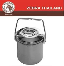 ZEBRA THAILAND Stainless Steel Camping Cooking Pot Loop Handle Hiking Billy