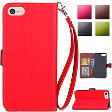 Magnetic Flip Leather Card Holder Stand Case Cover For iPod Touch 5th 6th Gen