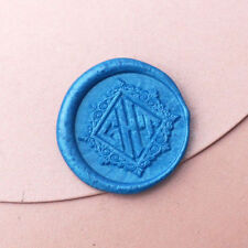 Custom Three Initials Wedding wax seal stamp personalized invitation wax stamp