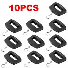 10PCS Portable 50kg/10g Digital LCD Electronic Hanging Weight Scale Lot KG
