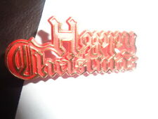 Happy Christmas Cake Decoration