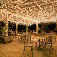 100M 600LED String Light Fairy Christmas Xmas Wedding Party Indoor Outdoor Decor
