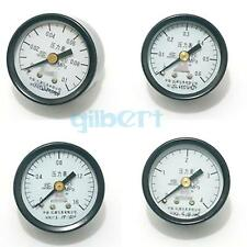 Axial Mount M10x1 Y-40Z Range 0.1-25 Mpa Air Compressor Pressure Gauge 40mm Face