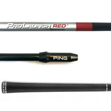 Grafalloy ProLaunch Red Special R-Flex Driver Shaft W/Ping G25/i25/Anser Adapter